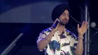 Diljit Dosanjh- Ek Kudi -Live at YouTube FanFest Mumbai 2018