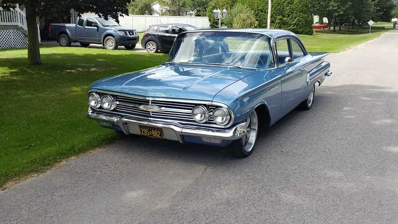 All Chevy 1960 chevrolet biscayne 2 door : 1960 Chevy Biscayne 409ci - YouTube
