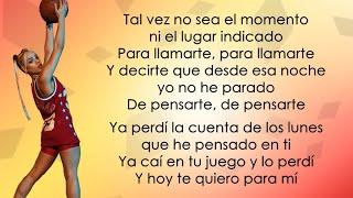 Danna Paola, Luisa Sonza, Aitana - Friend de Semana (Letra/Lyrics)