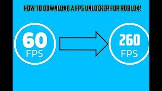 ROBLOX TUTORIAL: Cómo obtener un Roblox FPS Unlocker. (Rápido y sencillo)