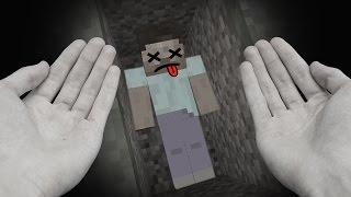 realistic minecraft steve dies