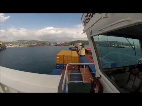 How a ship berth to: La Spezia - Italy