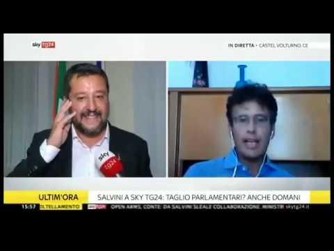 DIEGO FUSARO in dialogo con MATTEO SALVINI: Se chiudi ai 5Stelle, vince il sistema liberista