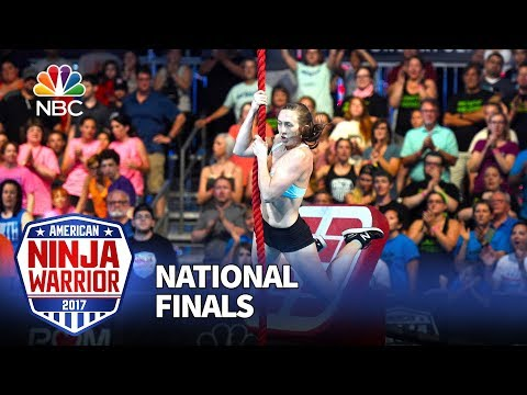 Allyssa Beird at the Las Vegas National Finals: Stage 1 - American Ninja Warrior 2017