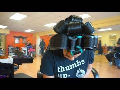 Dominican Hair Salon Slays 3 Month Old Bundles Ft. SuperNova Brazilian BodyWave