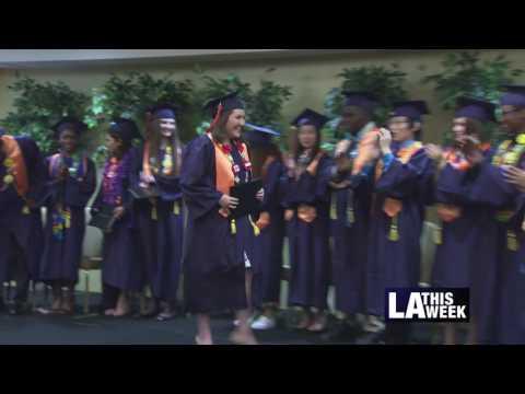 American University Preparatory School Graduation