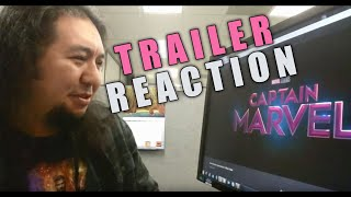 CAPTAIN MARVEL Official Trailer REACTION