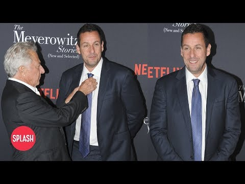Adam Sandler Actually Wore a Suit on the Red Carpet | Daily Celebrity News | Splash TV