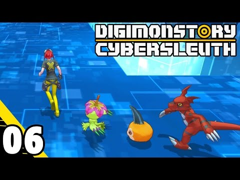 Digimon Story: Cyber Sleuth Part 6 Let's Get it! PS4 Gameplay Walkthrough