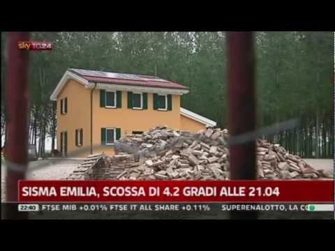 SkyTG24: A Cavezzo casa Wolf Haus illesa fra la distruzione del terremoto