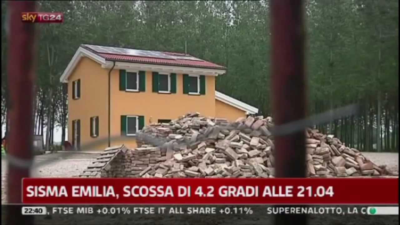 Wolf Haus Reggio Emilia skytg24: a cavezzo casa wolf haus illesa fra la distruzione del terremoto