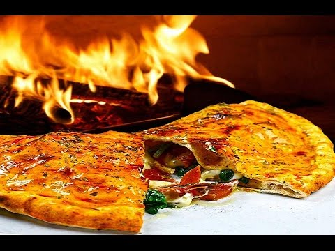 Пицца Кальцоне (Закрытая пицца).Видео рецепт.