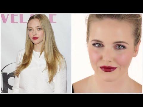 Makeup Look I did on Amanda Seyfried | Red Carpet by Monika Blunder