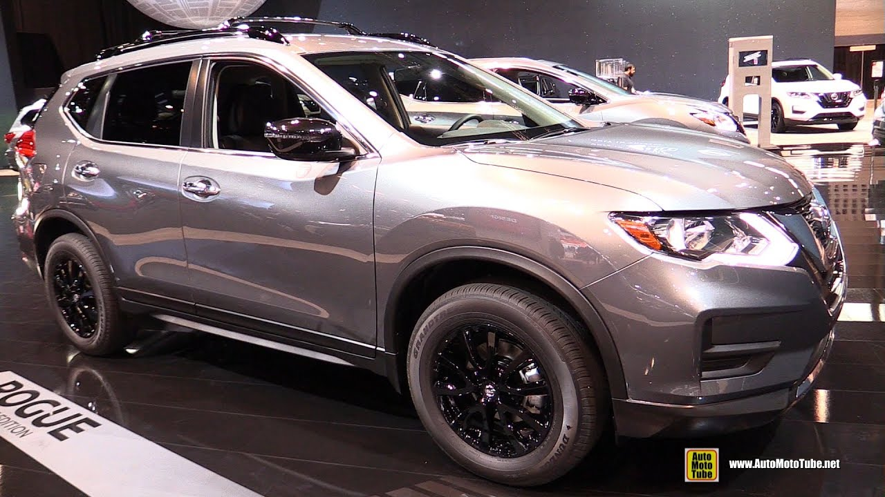 2017 nissan rogue midnight edition exterior and interior walkaround 2017 chicago auto show. Black Bedroom Furniture Sets. Home Design Ideas