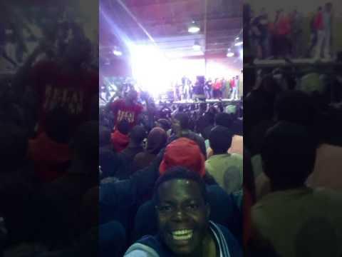 King monada(freshers  ball 2017) live performance at TuT Soshanguve south campus