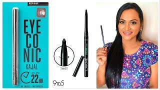 Lakme Eyeconic Kajal Review in Tamil   CheezzMakeup