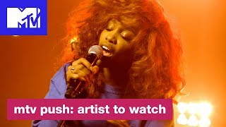 SZA Discusses What Inspired 'Supermodel'   Push: Artist to Watch   MTV
