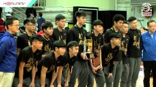 HKonlineTV Sports: 伍家謙報道 - Nike全港學界精英籃球賽 - 男女子組決賽及季軍戰賽事精華