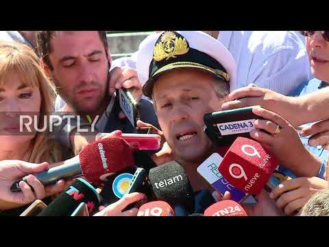 Argentina: Race is on to find missing sub, oxygen running out says Navy