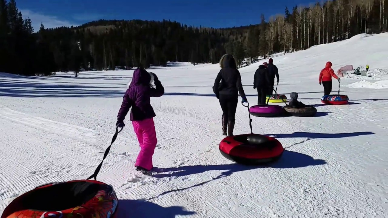 Sunrise Park Resort Tubing Hill Experience