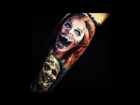 Horror Movie Themed Tattoo's Ink (Part 4)
