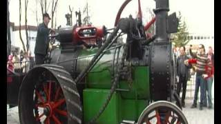 Tractor Veteran Powered Water Vapour