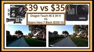 Dragon touch 4k vs gopro hero 7 black (dragon action camera 16 mp vision 3 full review with video footage and sound recording sample) get more infor...