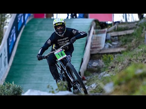 UCI DOWNHILL WORLD CUP LOURDES 2017 - JC RACING