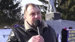 Пикет предпренимателей Чувашии город Канаш 24 02 2015года
