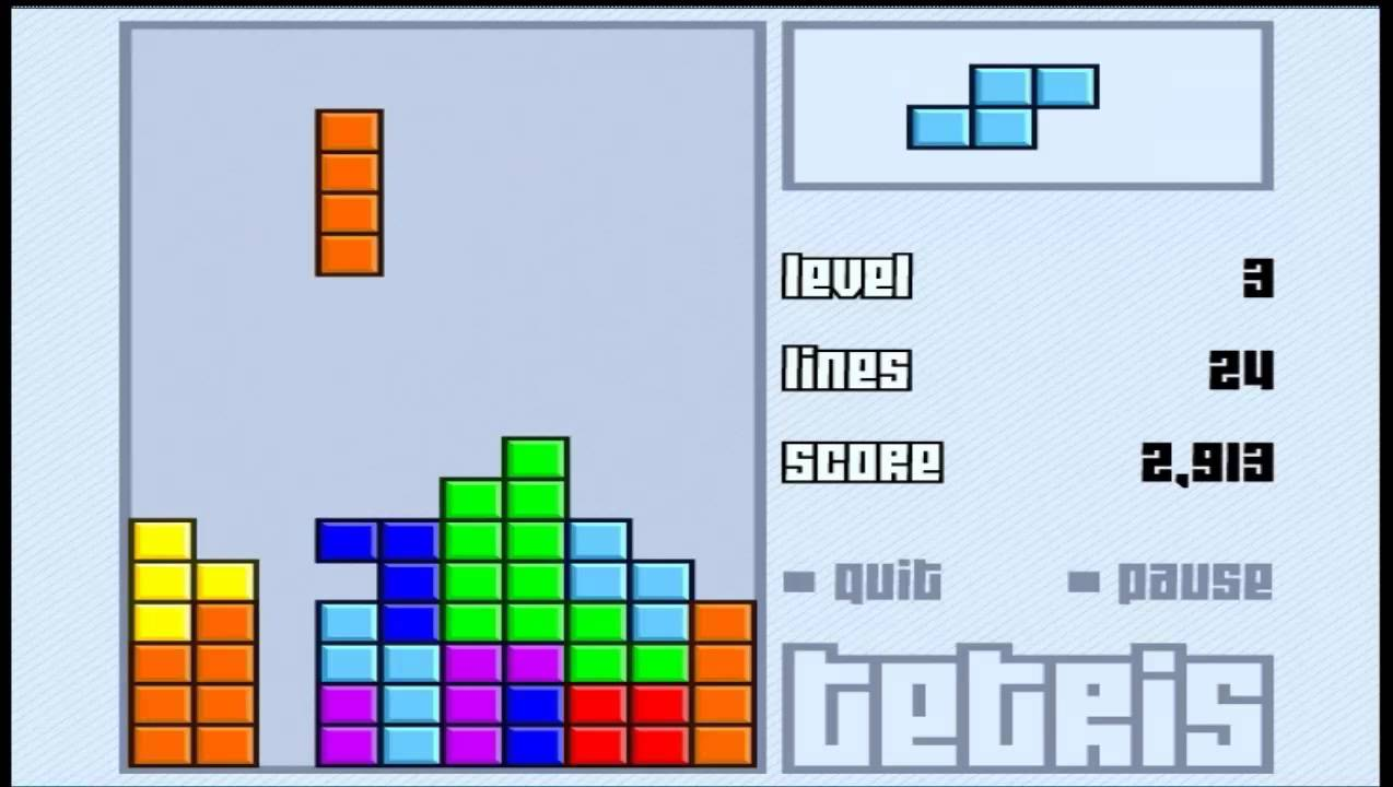 Tetris Clasico Gameplay Hd Www Juegosjuegos Tv Youtube