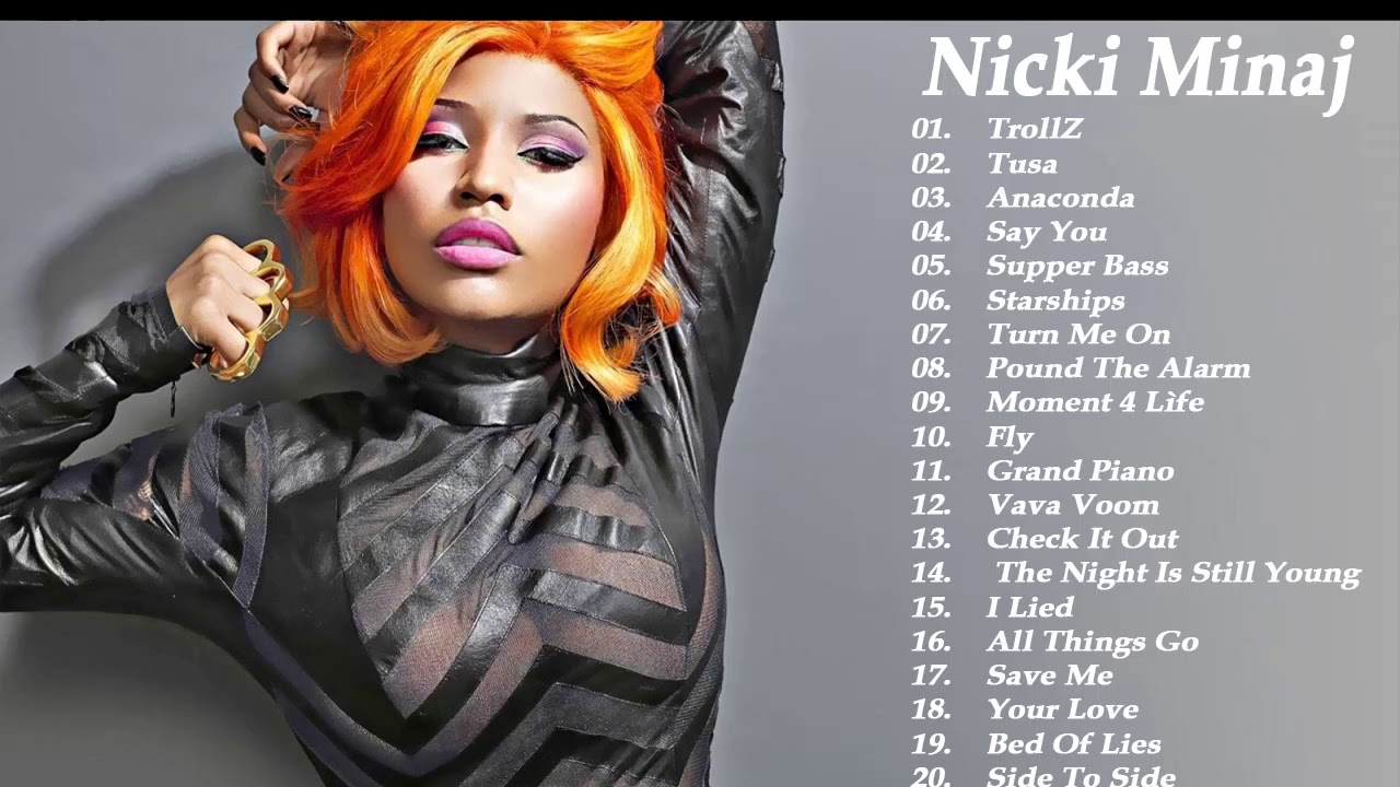 Download Nicki Minaj Greatest Hits 2020 -- Best Songs Of Nicki Minaj ( full ALbum ) - TrollZ