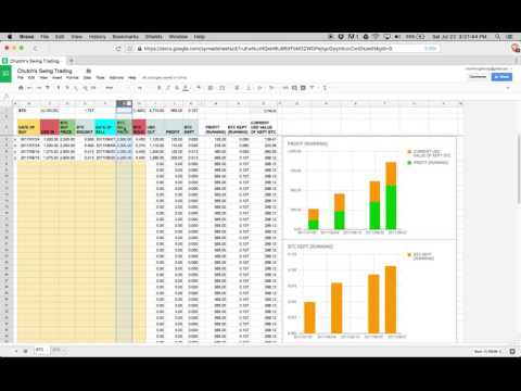 Chutch's Crypto Trading - E01 - Setting Up Tracker Spreadsheet