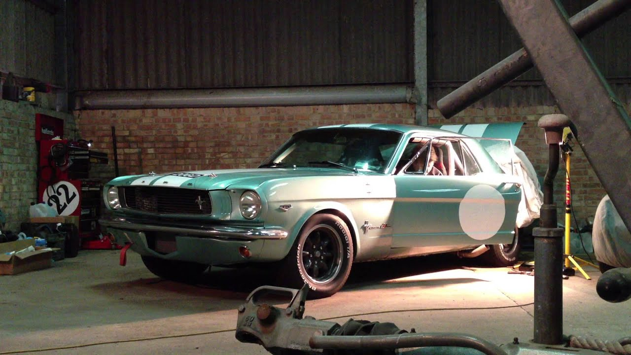 1966 Mustang Trans Am Recreation - Electric Exhaust Cutouts - YouTube