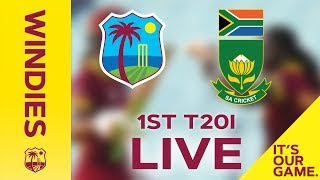*LIVE STREAM* | Windies Women v South Africa | 1st T20I - 24 September 2018