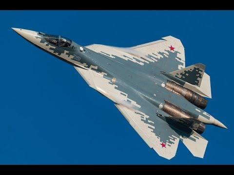 Пилотаж Су-57 (Т-50)