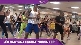 """Leo Santana Ensina A Coreografia Da Música """"Nossa Cor"""""""
