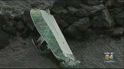 3 Dead, 1 Survivor After Deadly Boat Crash Into Government Cut Jetty Off Miami Beach