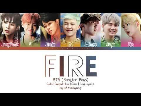Lagu BTS Fire