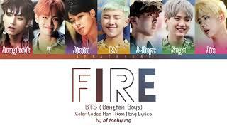 Gambar cover Lagu BTS fire