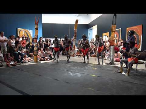 Tiwi Dancers at 7th Asia Pacific Triennial of Contemporary Art