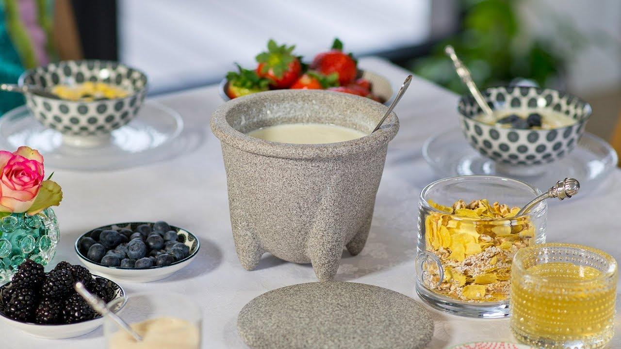 Frischer Joghurt im Handumdrehen - DENK Keramik - YouTube