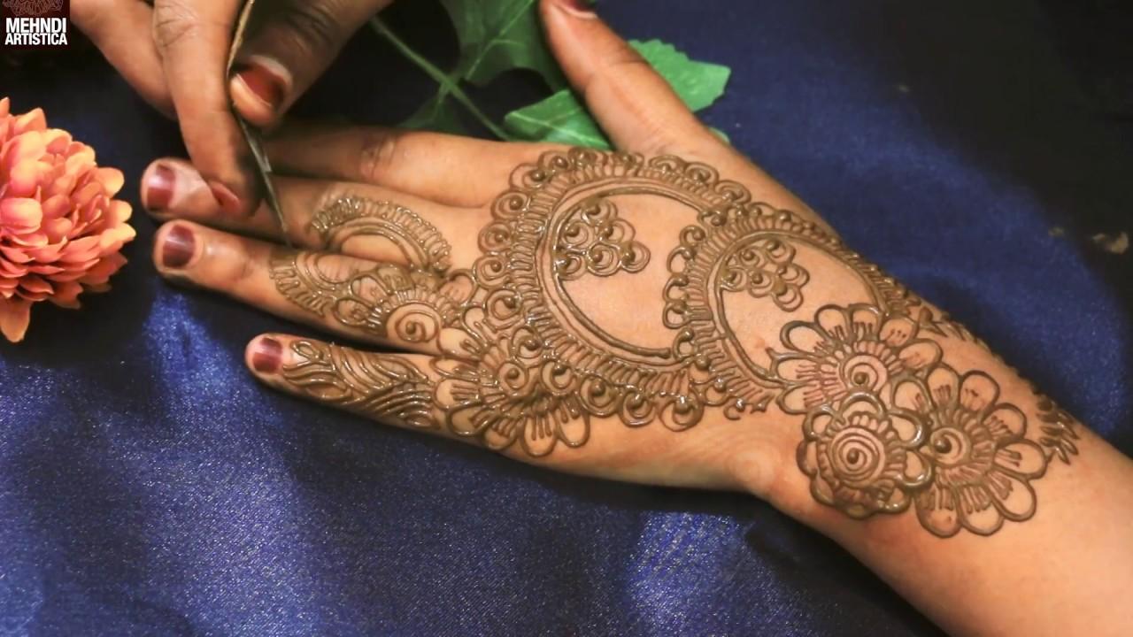Mehndi Hand Decoration Games : Mehndiartistica easy simple henna mehndi designs for