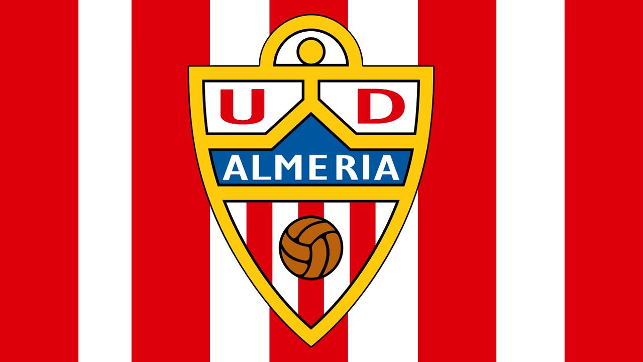 Bandera y escudo de la uni n deportiva almer a almer a capital almer a youtube - Muebles la union almeria ...