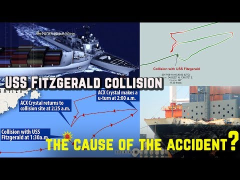 Report: ACX Crystal Ship was on autopilot during the collision | The cause of the accident