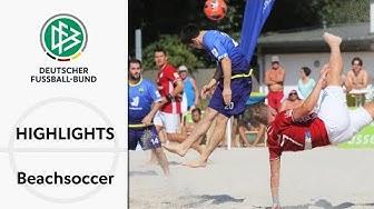 Fallrückzieher-Spektakel in Düsseldorf | Highlights deutsche Beachsoccer-Liga | Spieltage 10 & 11