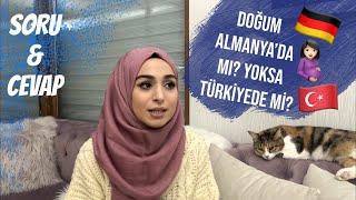 DOĞUM ALMANYA'DA MI? TÜRKİYEDE Mİ? 🤰🏻| CİNSİYET TAHMİNİ | ÇOCUK İÇİN TEDAVİ Mİ OLDUK? | SORU CEVAP