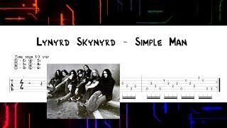 Lynyrd Skynyrd - Simple Man (TAB) Eb tuning
