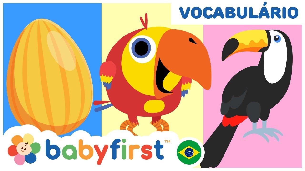 🐮 Aprenda Animais com Larry Surpresa Ovos | Videos Educativos para Crianças | BabyFirst Brasil