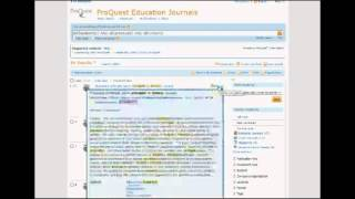 Education Library Database Searching