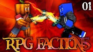 WIR SIND ZURÜCK! - MINECRAFT RPG FACTIONS #01 | DieBuddiesZocken